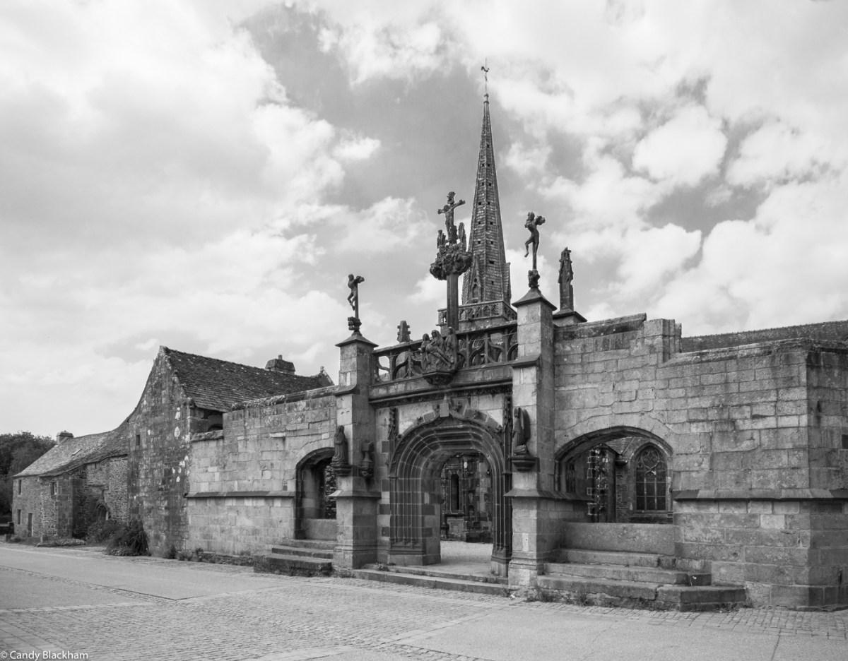 The Church of St Salomon in La Martyre