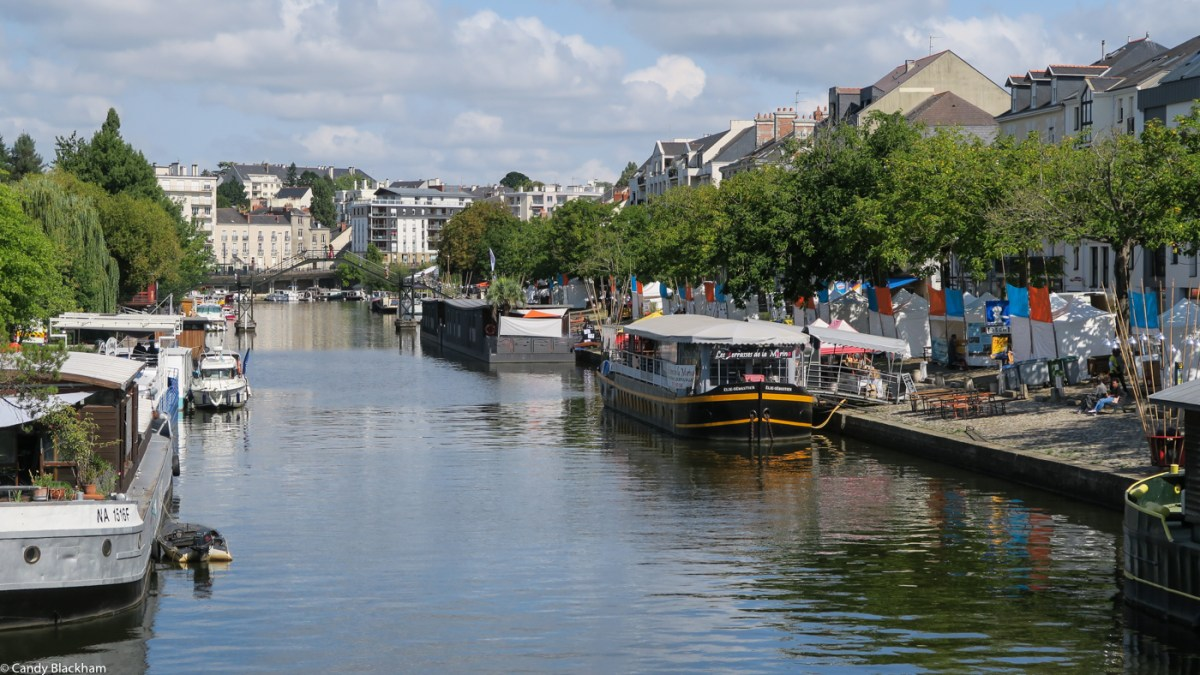 The River Erdre, Nantes