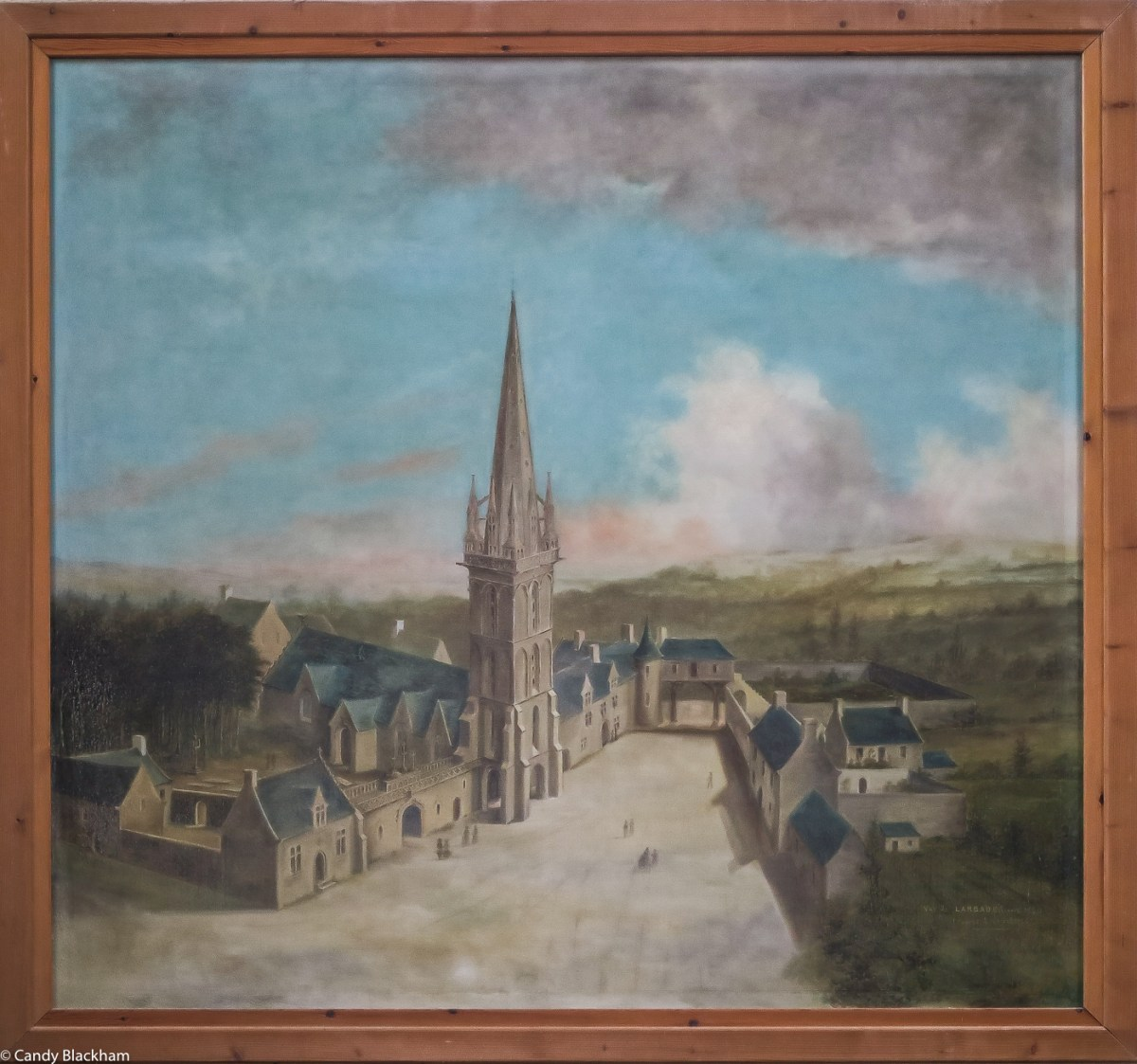 Painting of St Peter, Plouvorn