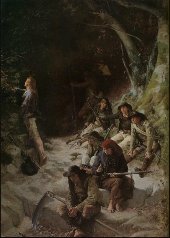 Alexandre Coessin de la Fosse, 'The Ambush', 1883