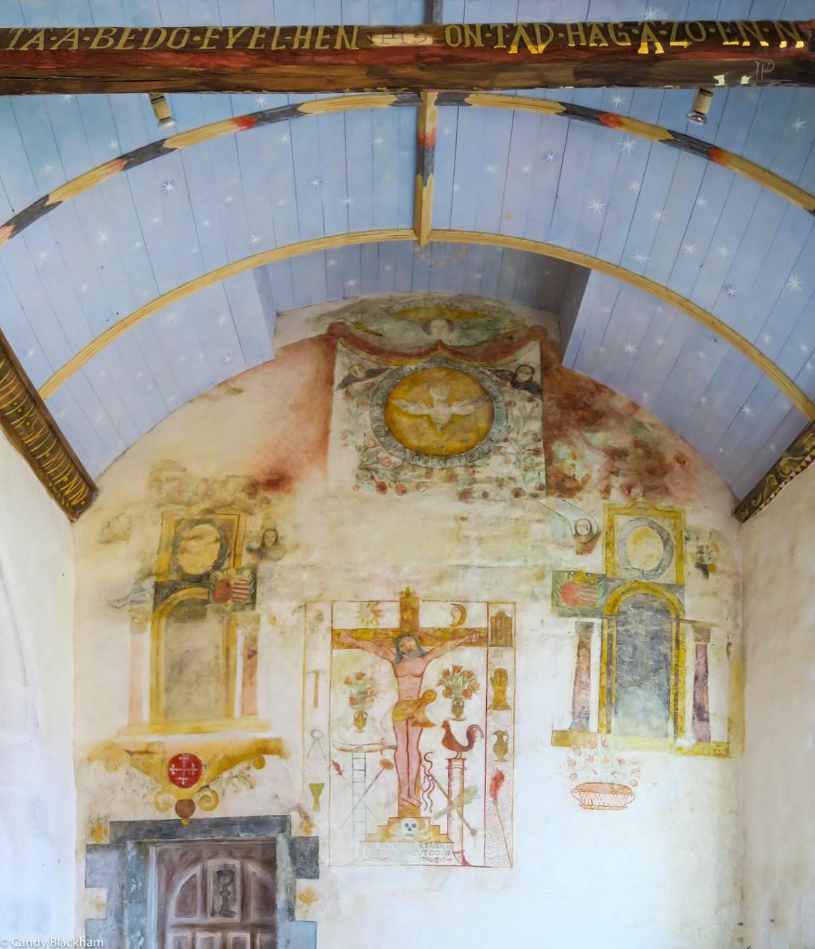 17C wall paintings