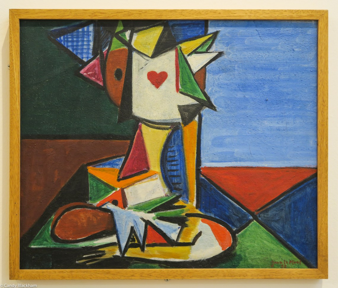 Jean de Moal: Composition a l'as de coeur (1938)