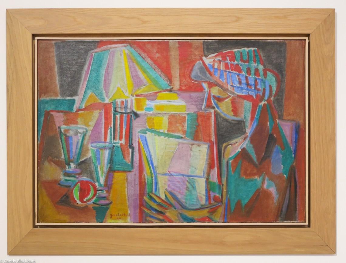 Jean le Moal: La figure a la Lampe, 1944