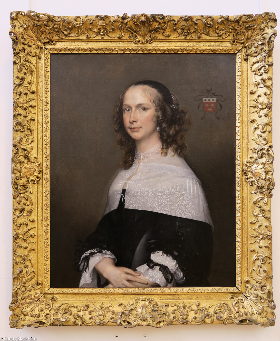 Adriaen Hanneman: Portrait of Dana van Vrijberghe, 1661
