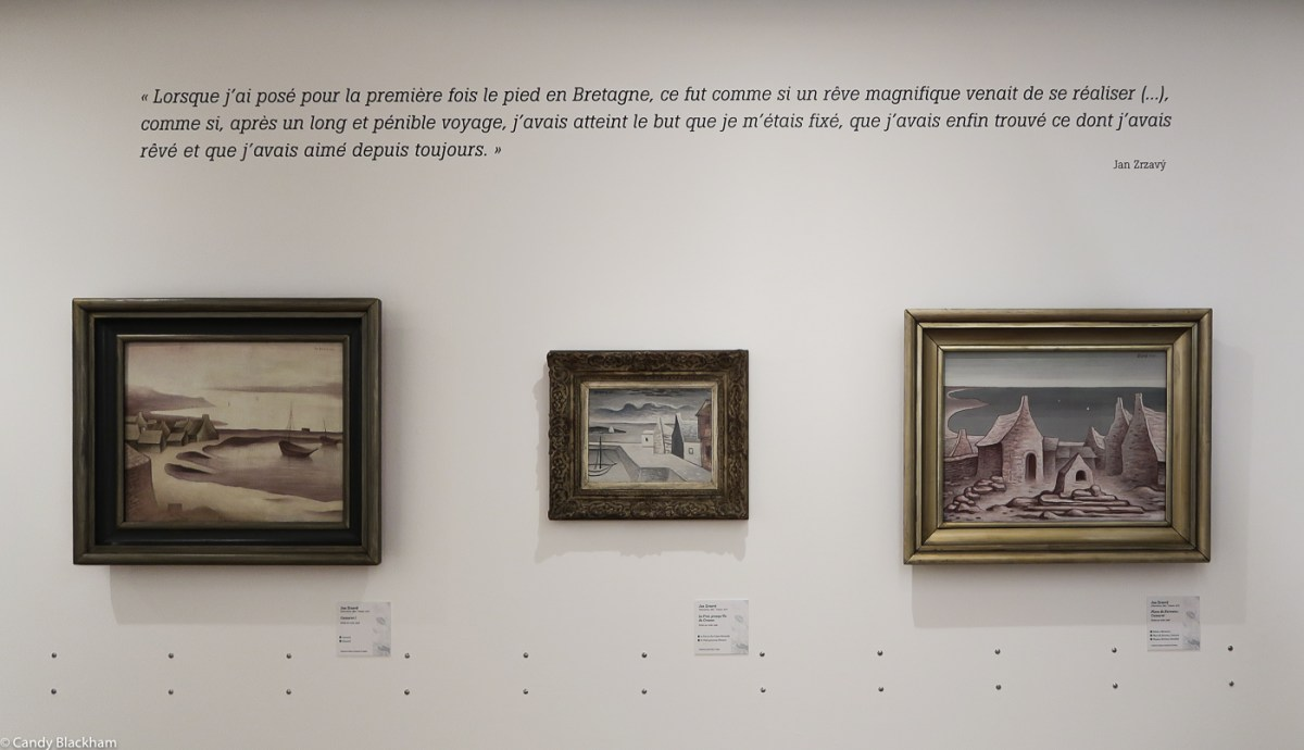 Exhibition by Czech painters in the Regional Museum, Quimper