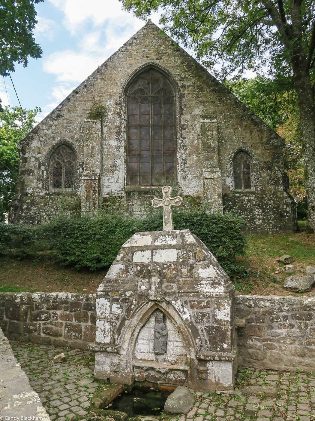 The Chapel of La Fontaine Blanche