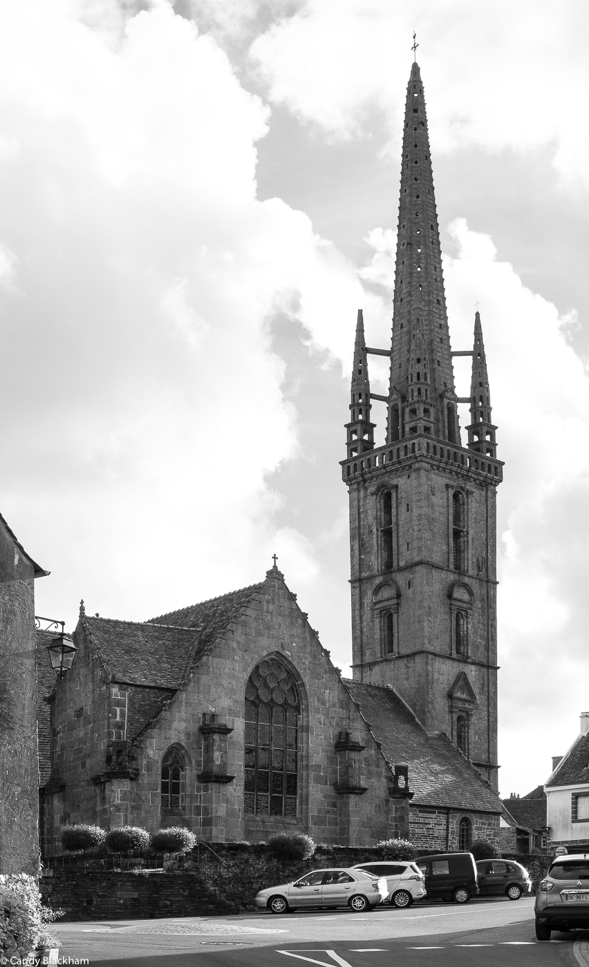 The Church of St Suliau and its Bell Tower (from the north side)