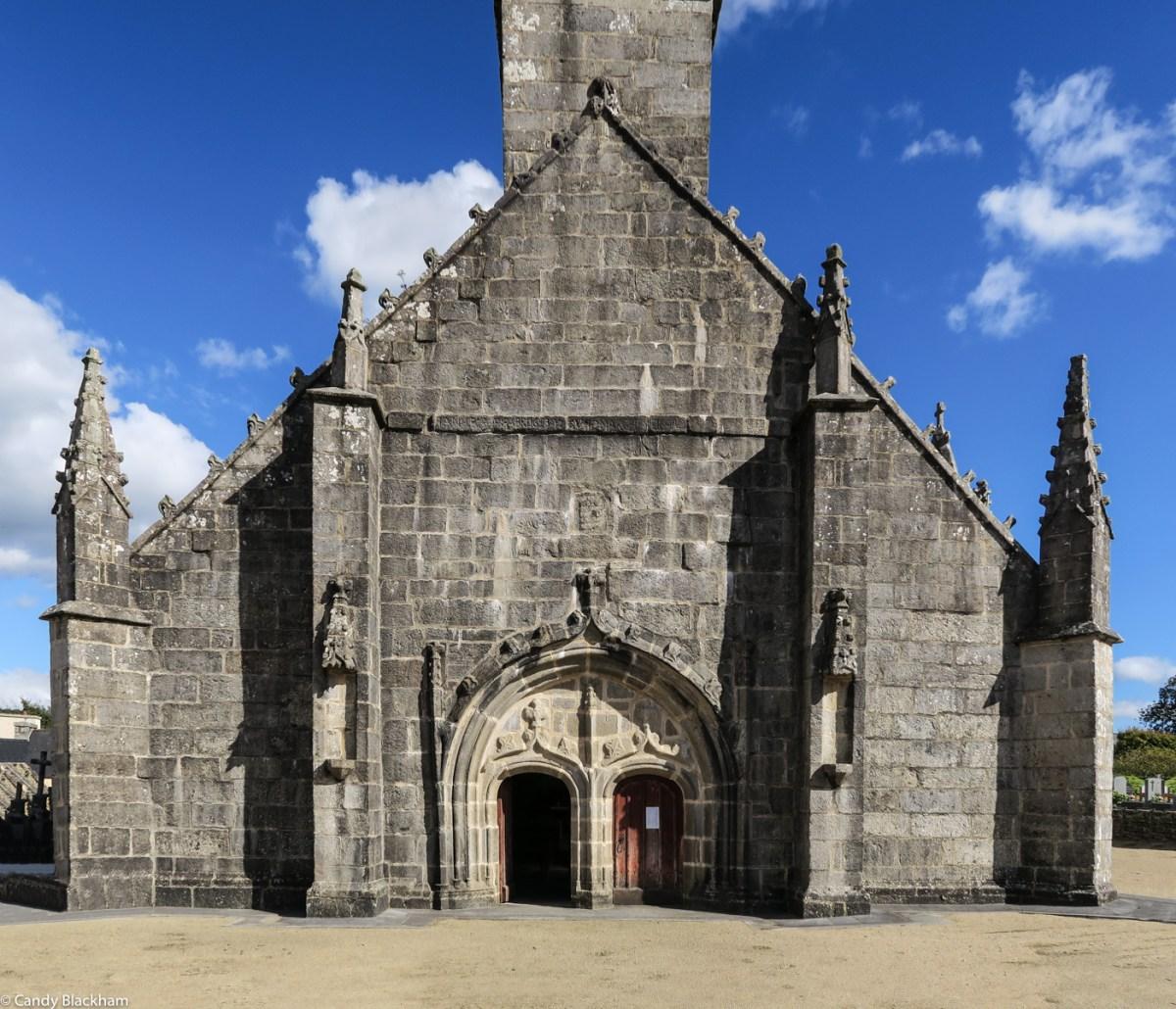 The 16C West Facade of Notre Dame de Brennilis