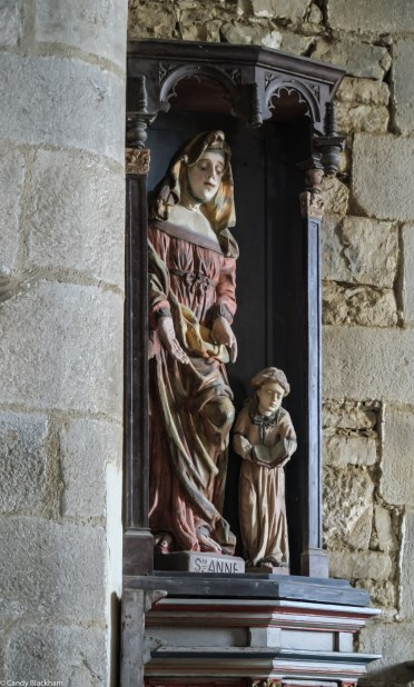 St Anne in the Church of Notre Dame, Brennilis