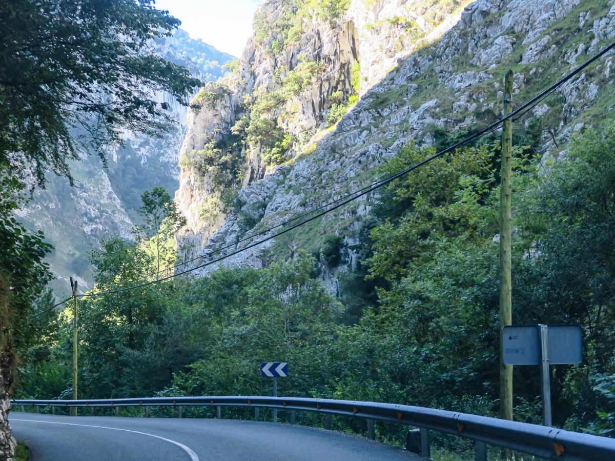 The Hermida Gorge and road to Potes