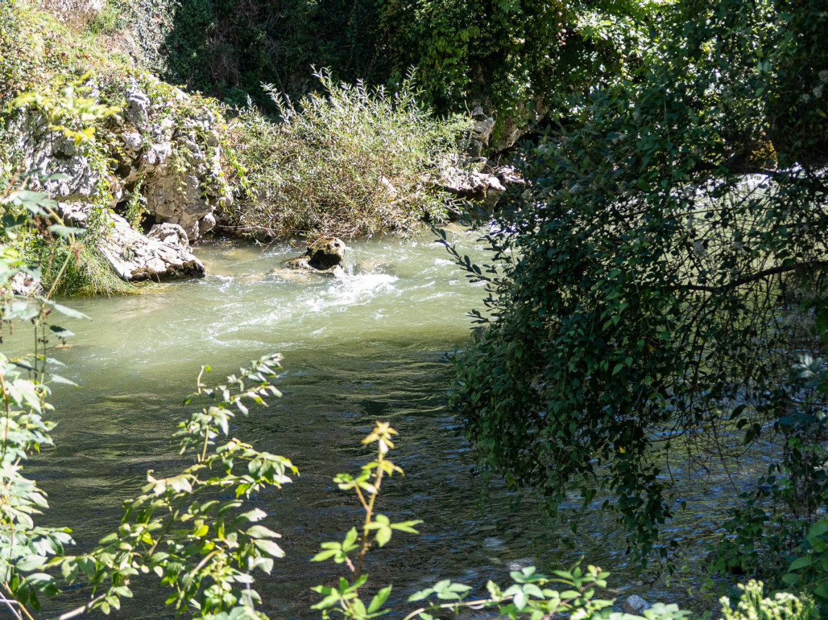 River Deva in the Hermida Gorge on the road to Potes