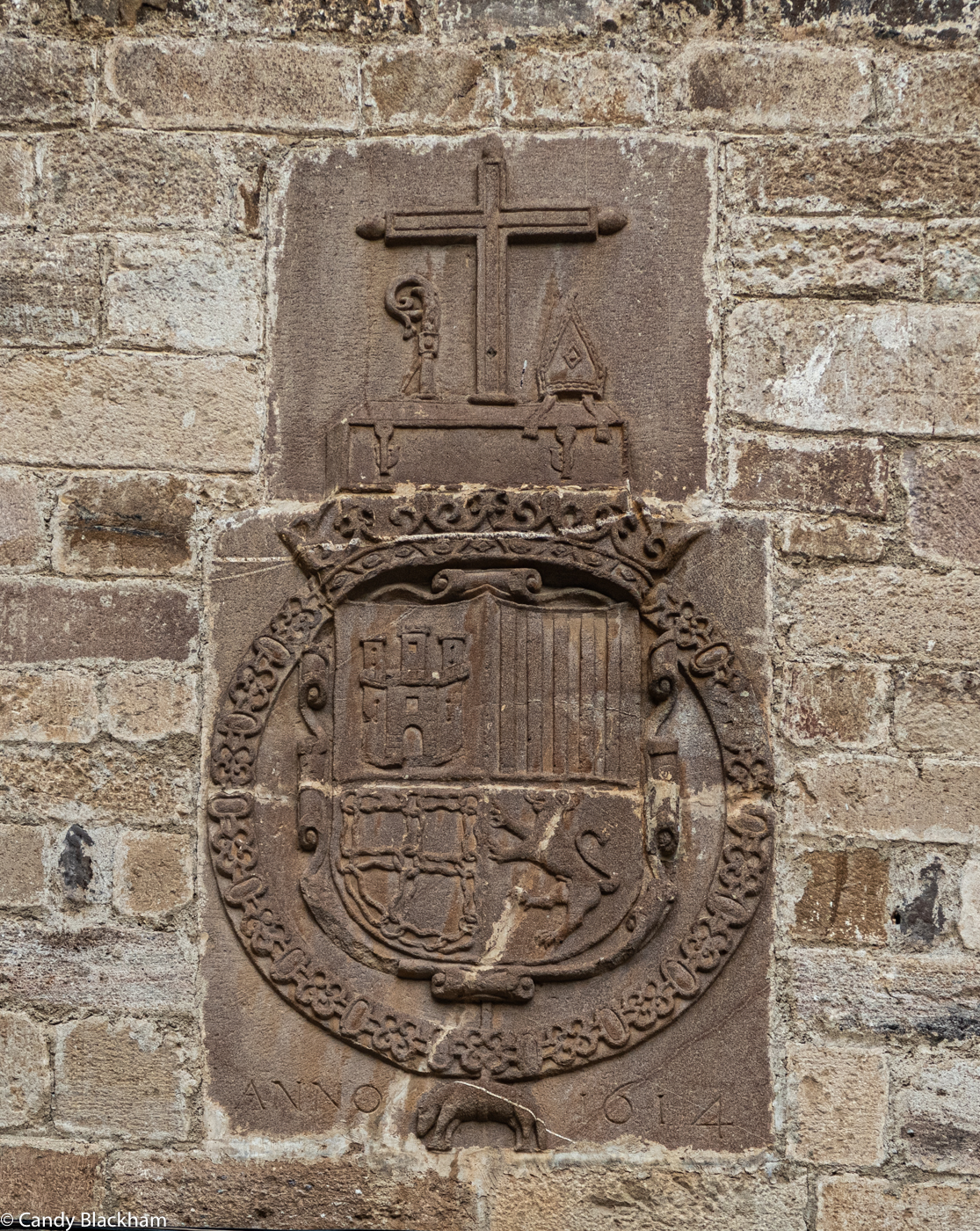 The Coat of Arms above the monastery door