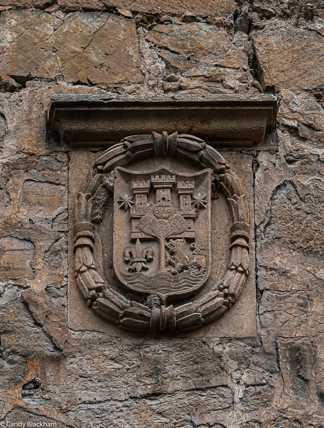 Coat of Arms on the Oregon de la Lama Tower