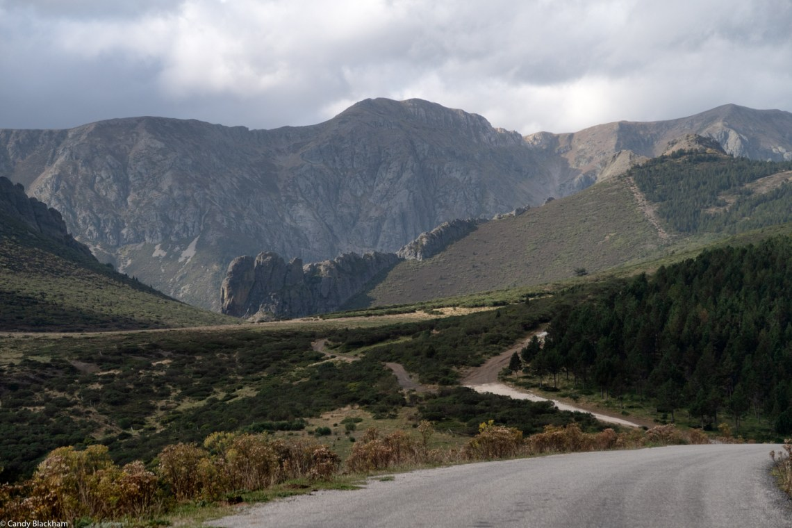 The Pass of San Glorio on the road from Potes to Leon