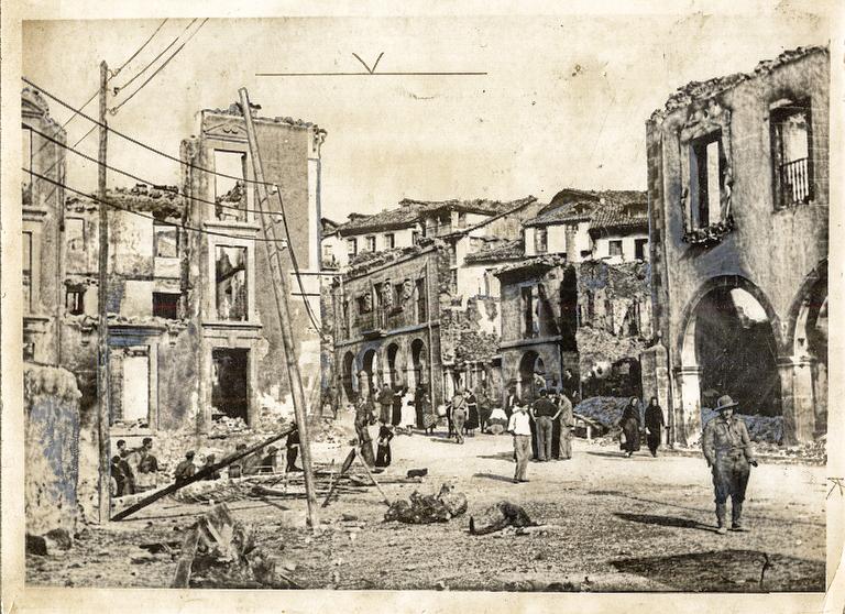Potes in 1937, Spain
