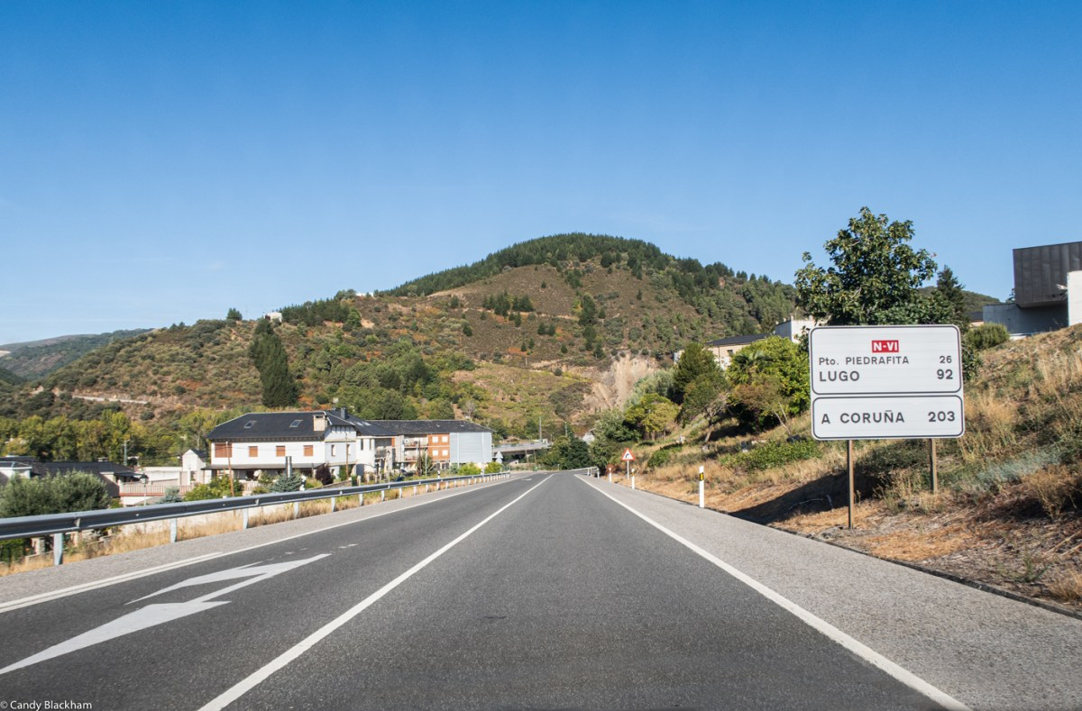 The road from Villafranca to Piedrafito