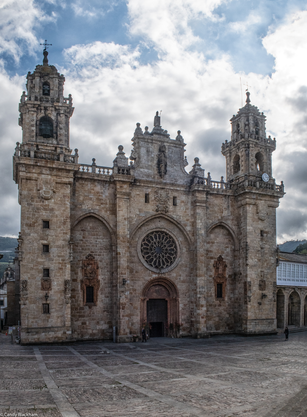 The Cathedral in Mondonedo on the road from Lugo to Ribadeo