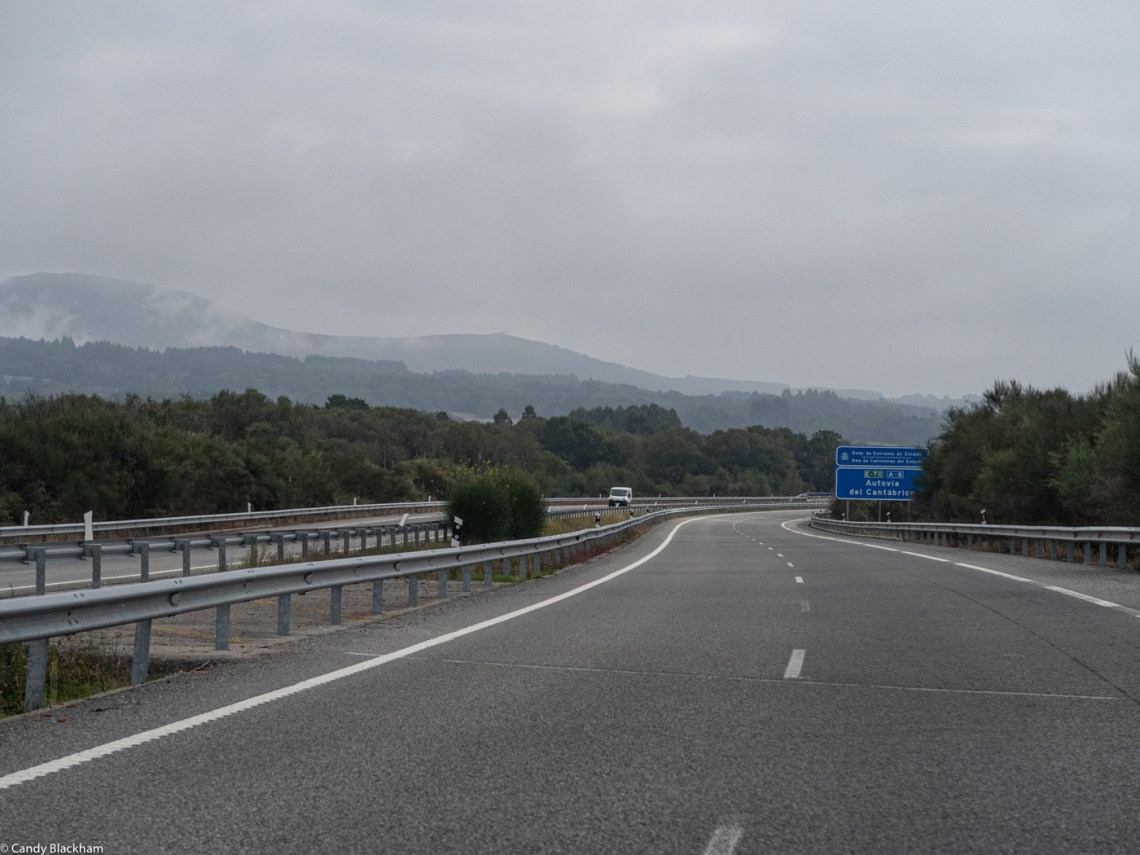 On the road from Lugo to Mondonedo