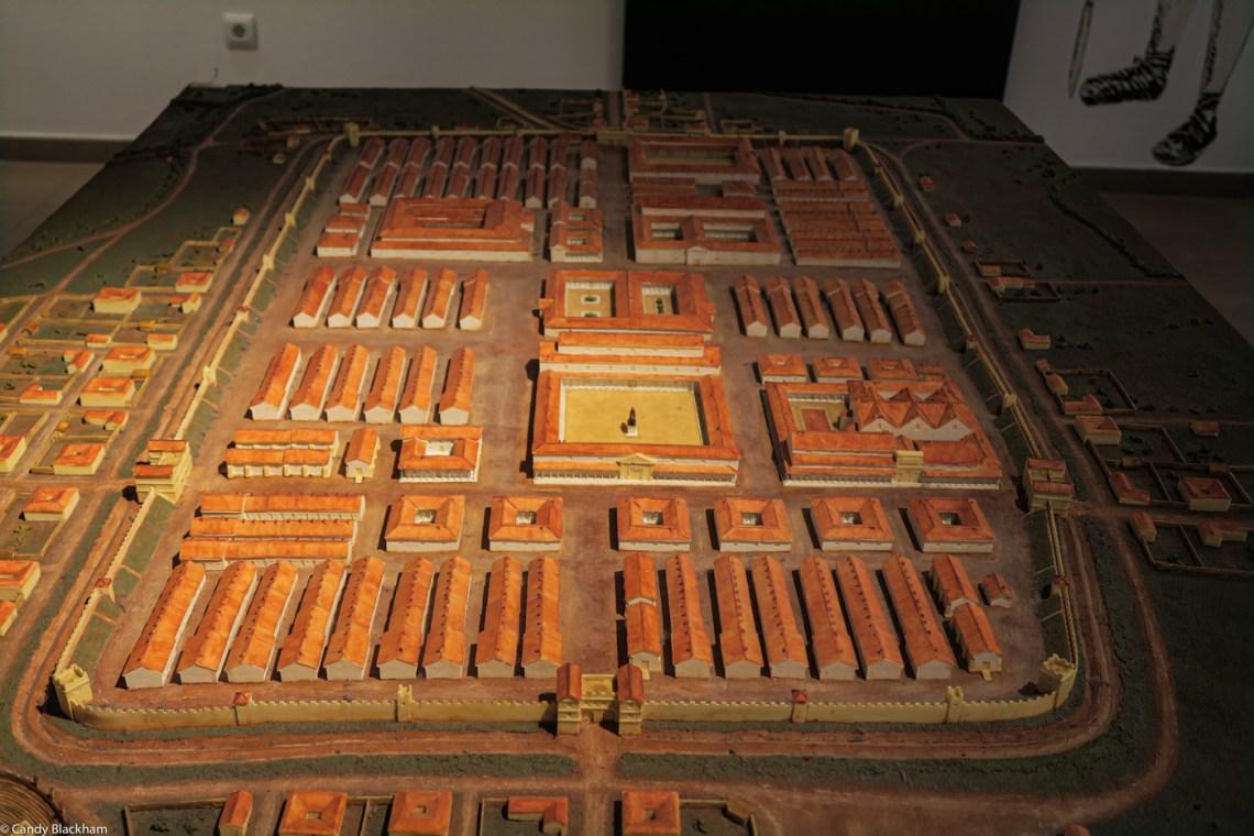 The Roman encampment in Leon