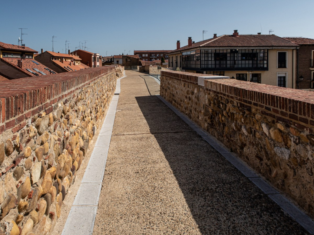 The walls of Leon
