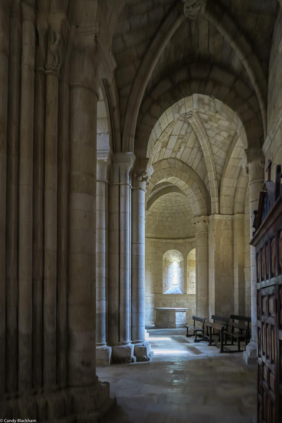 The Ambulatory of Santa Maria la Real in Gradefes
