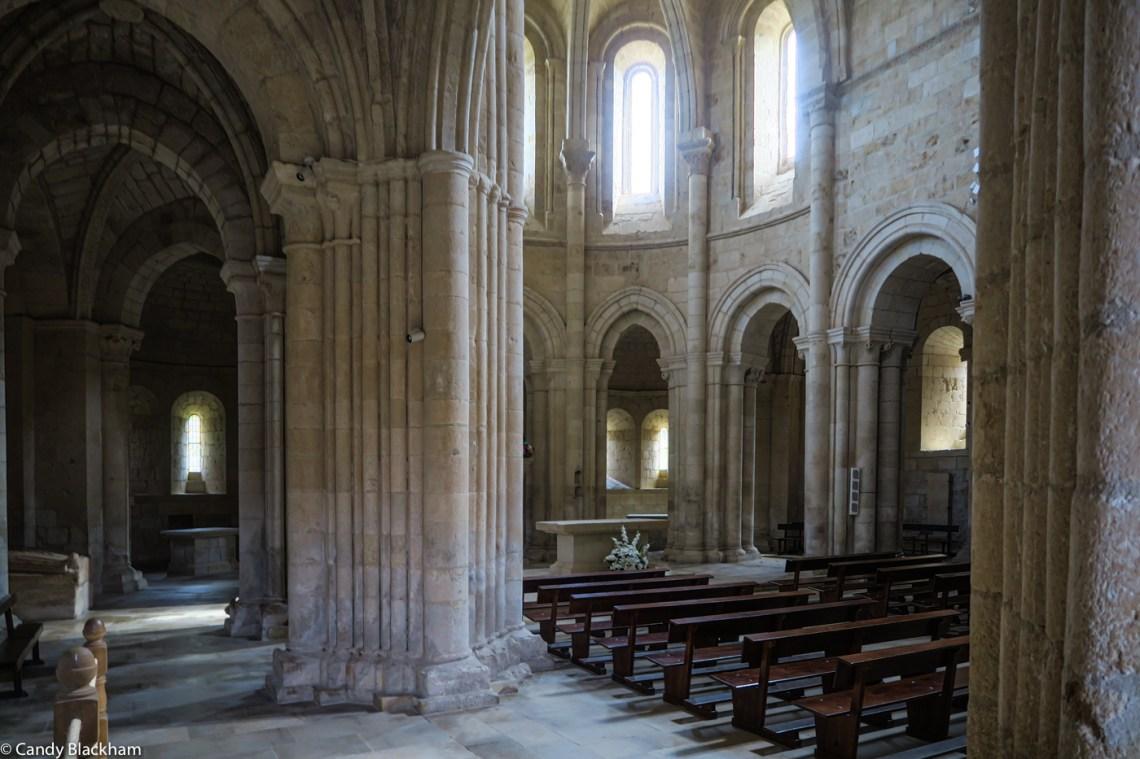 The apse and ambulatory of Santa Maria la Real in Gradefes