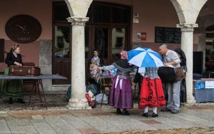 The Plaza del Grano - the Festival of the Melon