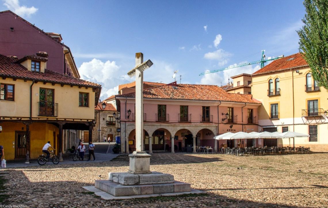 The Plaza del Grano in Leon