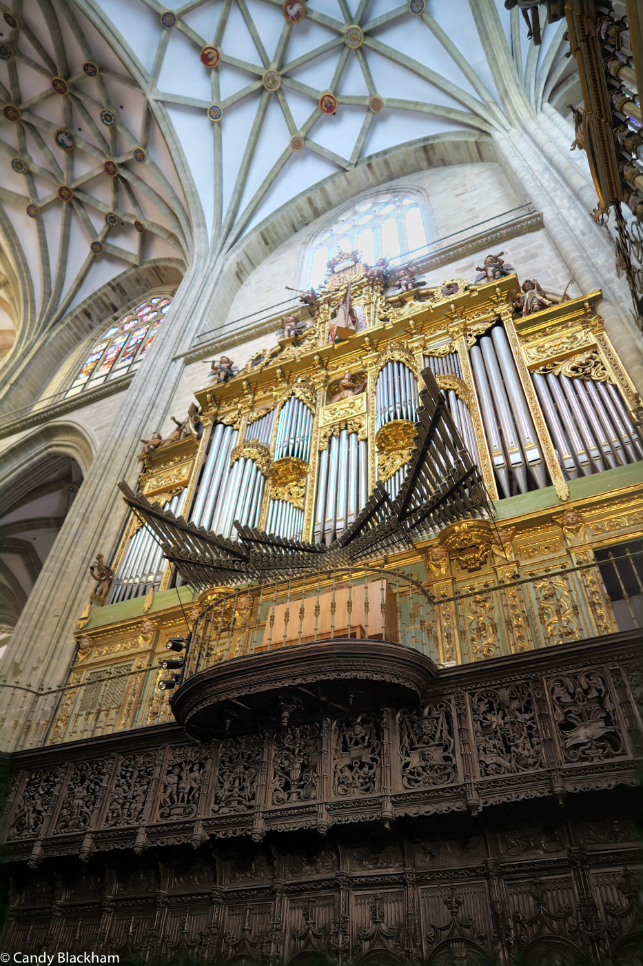 The Organ Loft above the Choir Stalls
