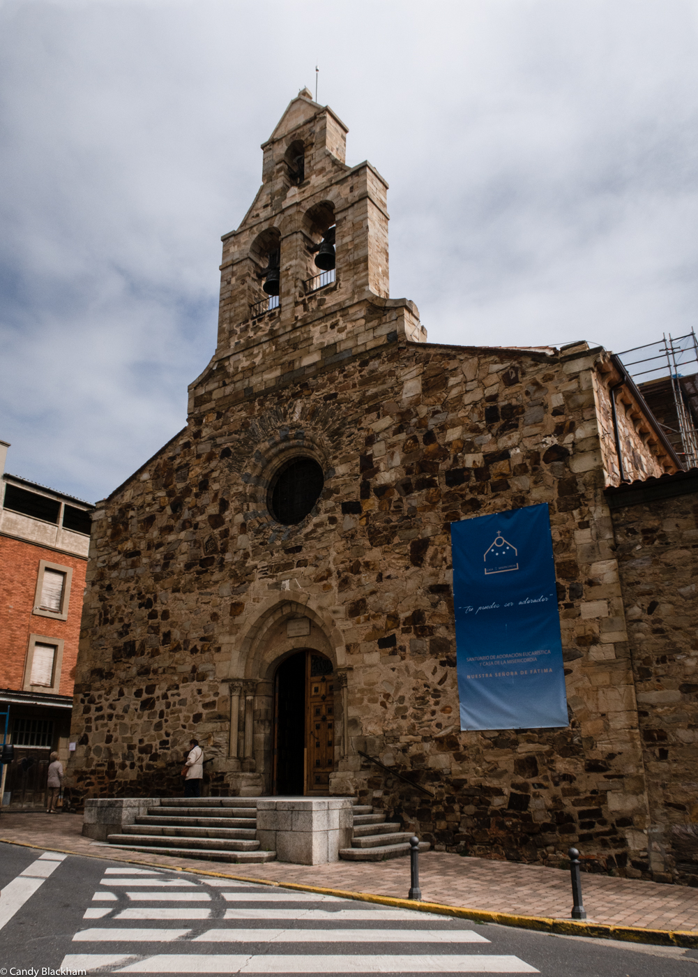 The Church of St Julian in Astorga