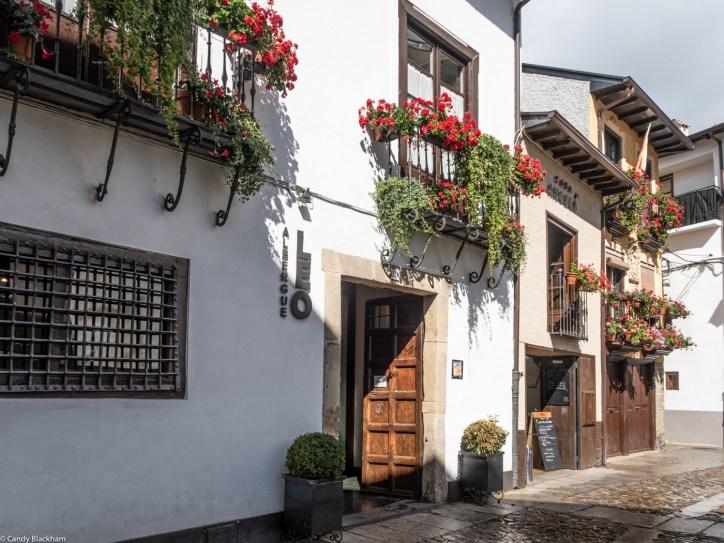 The Camino de Santiago through the Calle del Agua