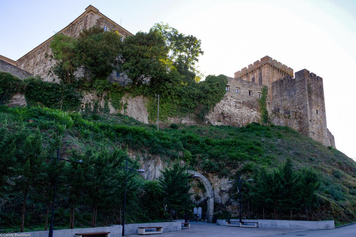 The Castle & Monastery of San Vicente in Monforte de Lemos