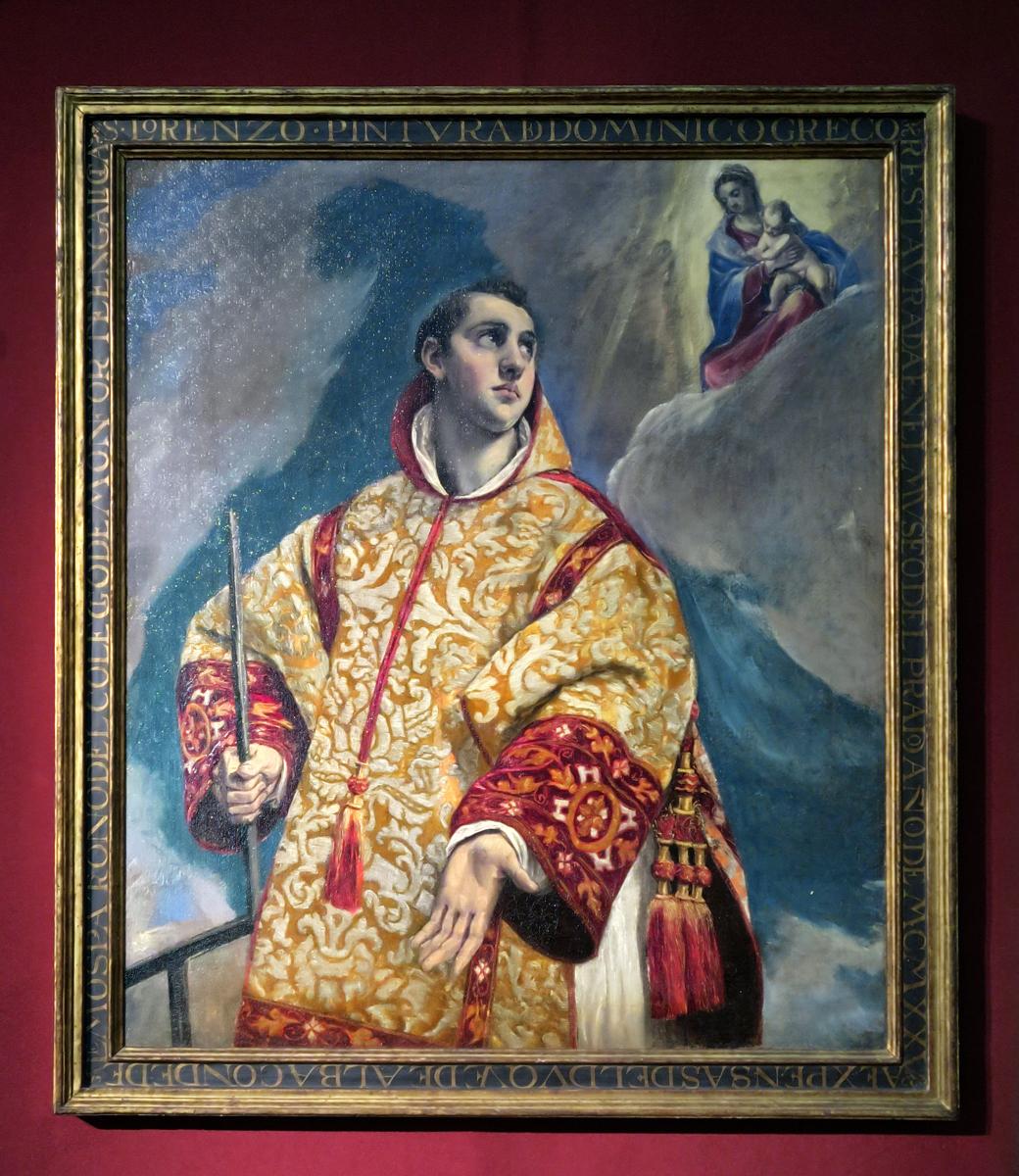 El Greco in the College ARt Gallery