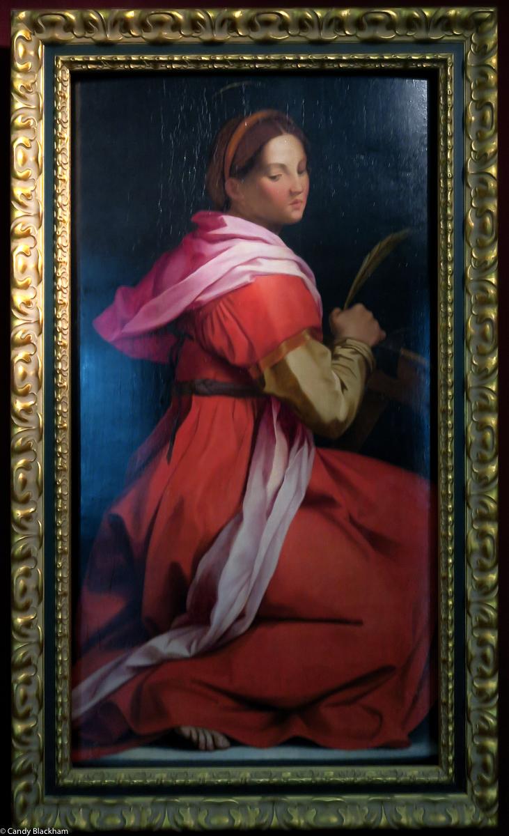 Andrea del Sarto in the College art gallery