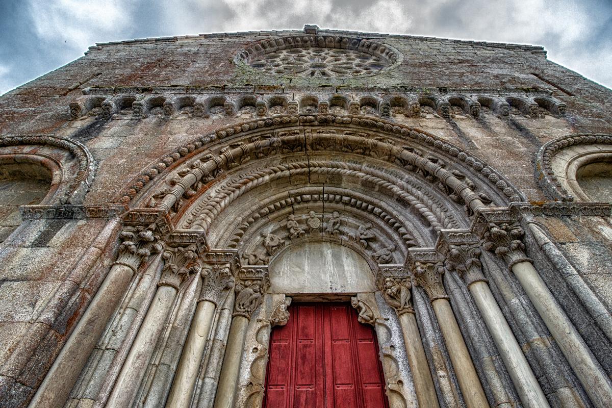 The Romanesque Church of San Estevo de Ribas de Mino