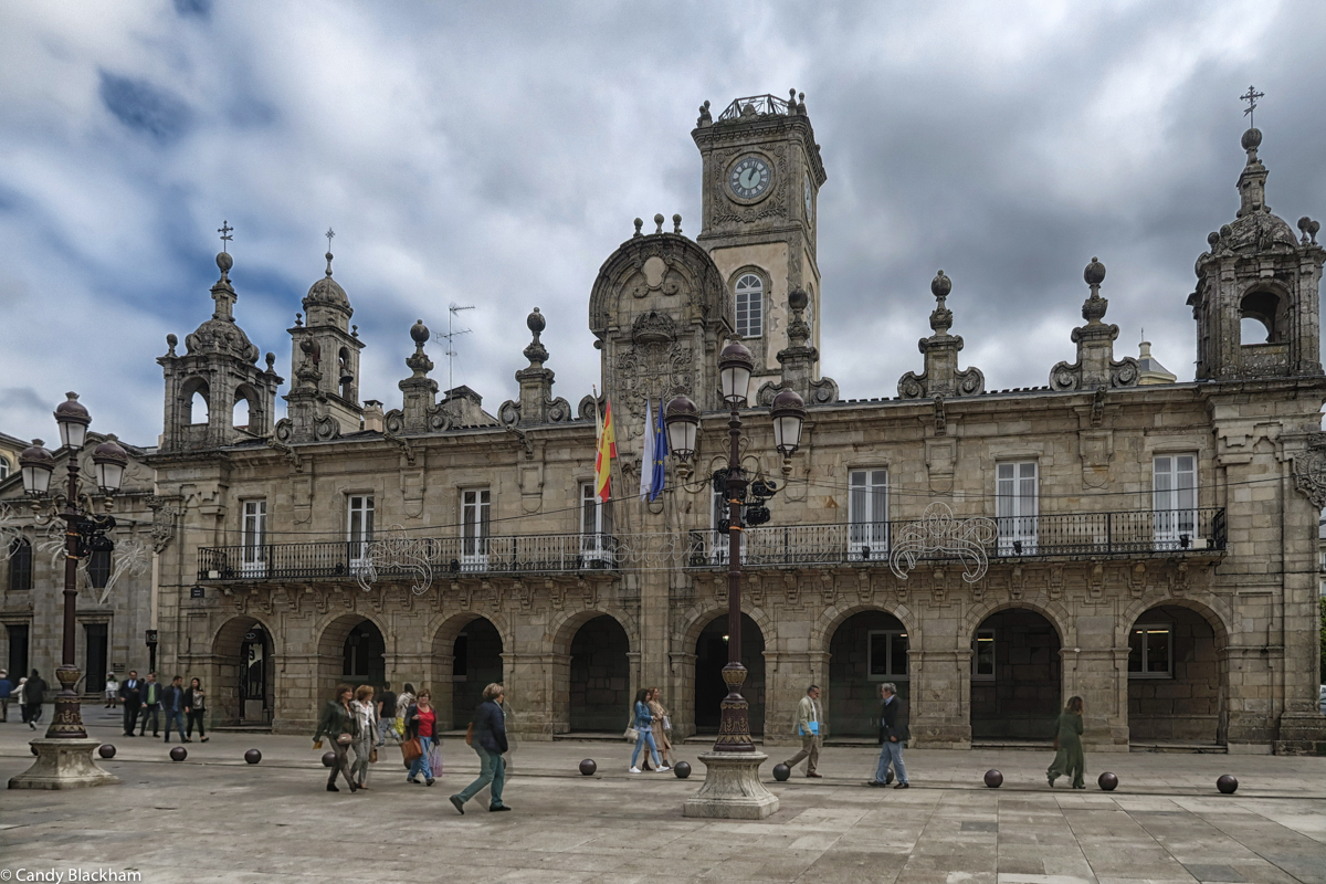 The City Hall in Lugo