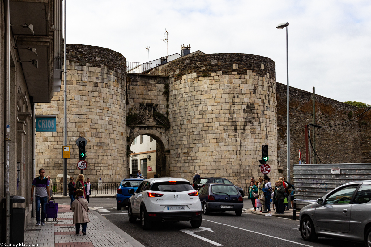 The Gate of San Pedro in the Walls of Lugo