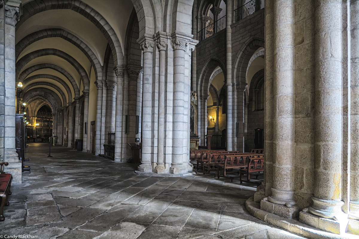Columns in the Cathedral of Lugo