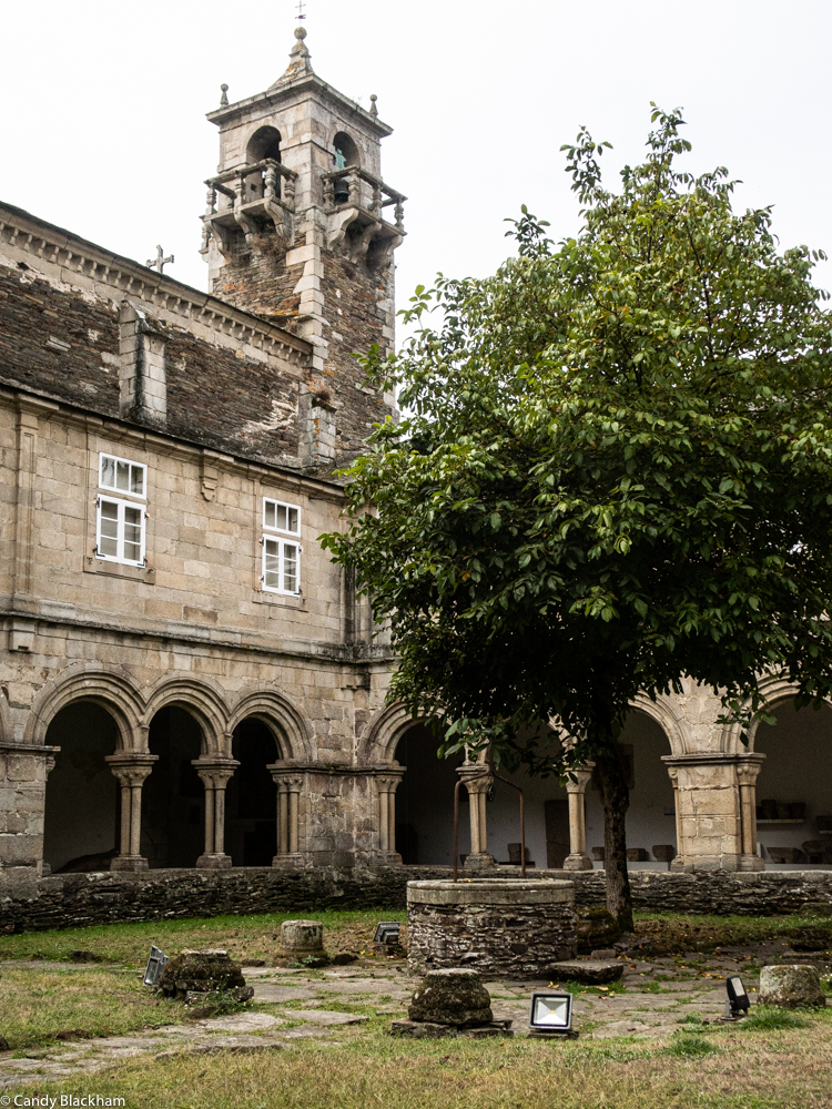 The Cloister in the Provincial Museum of Lugo