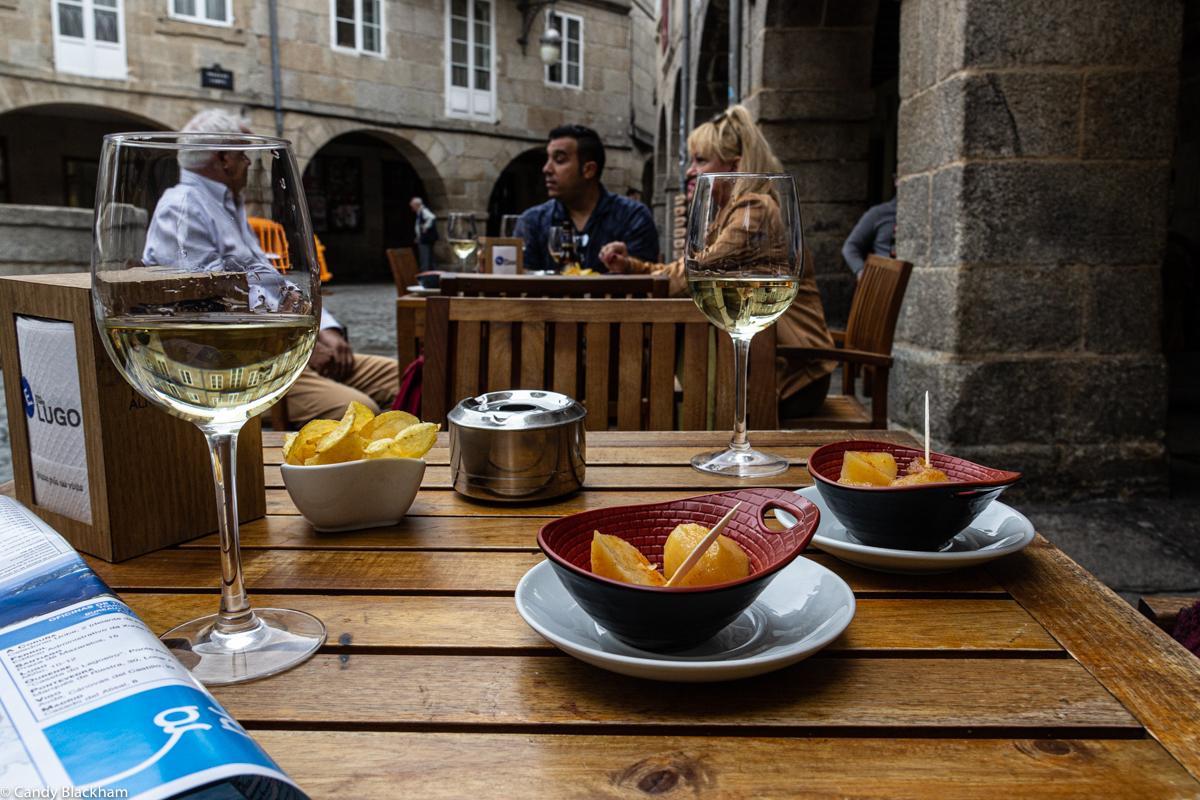 Refreshments in Lugo