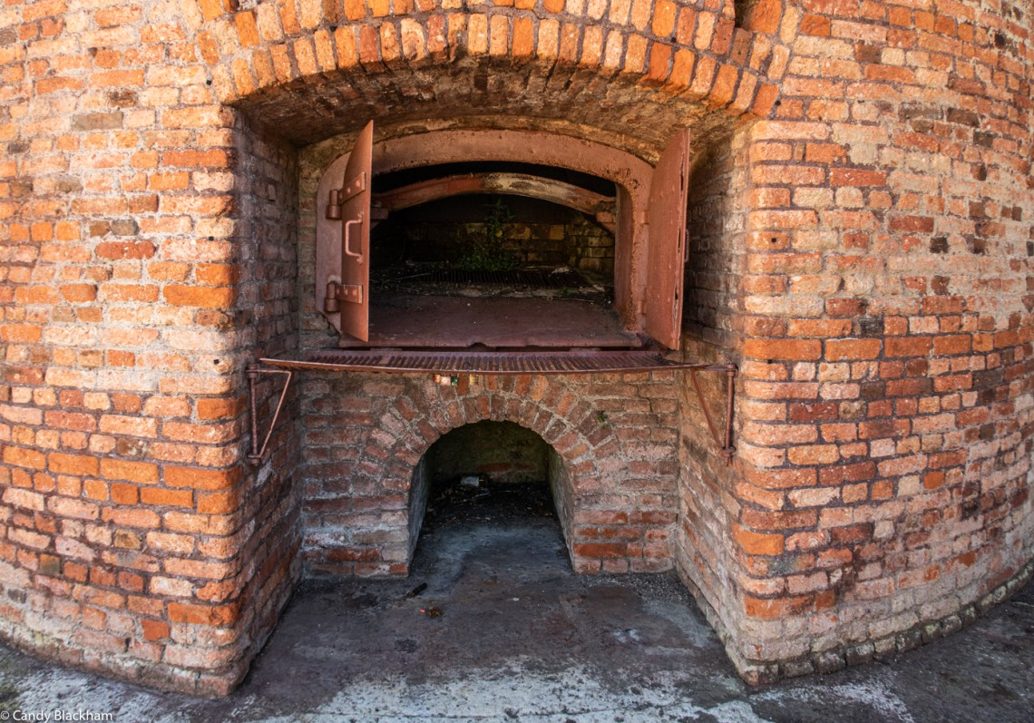 Ovens in the furnaces