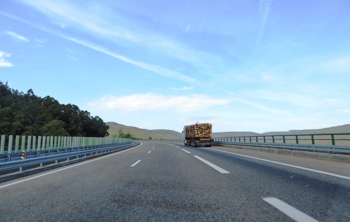 On the road from Porto to Baiona