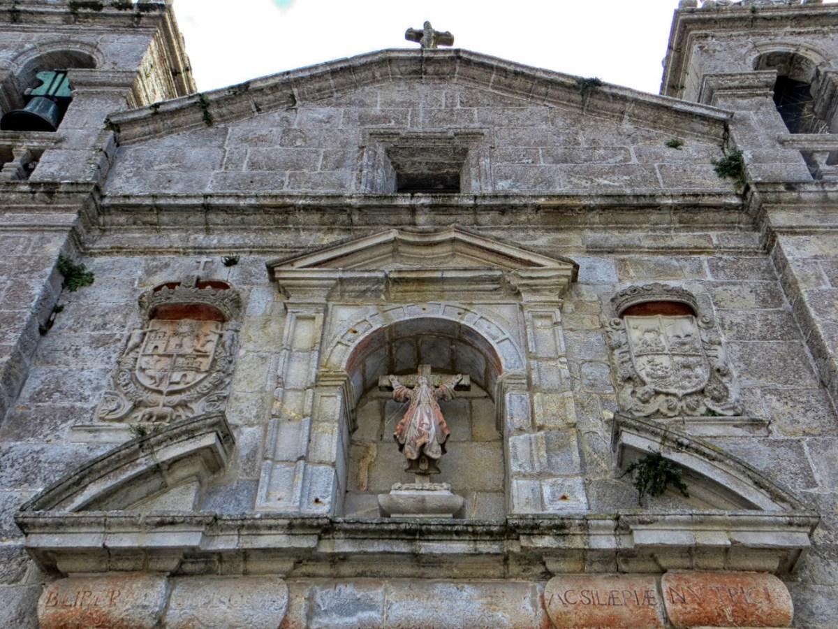 ST Liberata in Baiona in Galicia