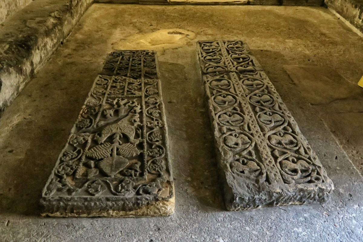 Tombstones in the Crypt