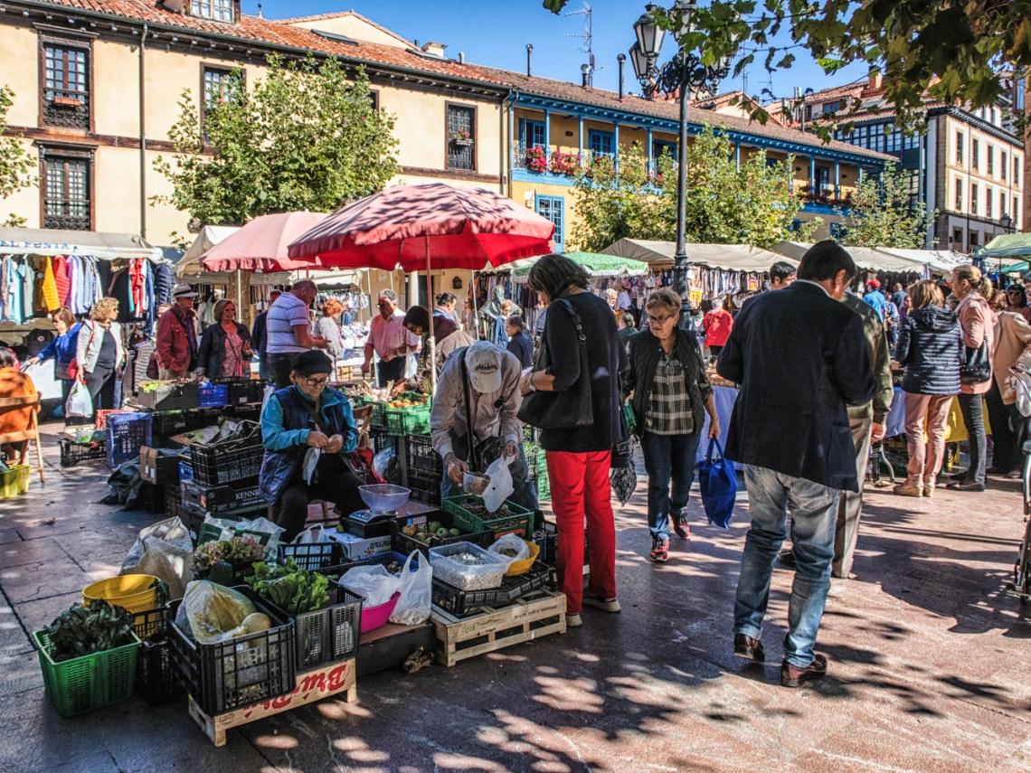 Market in Oviedo