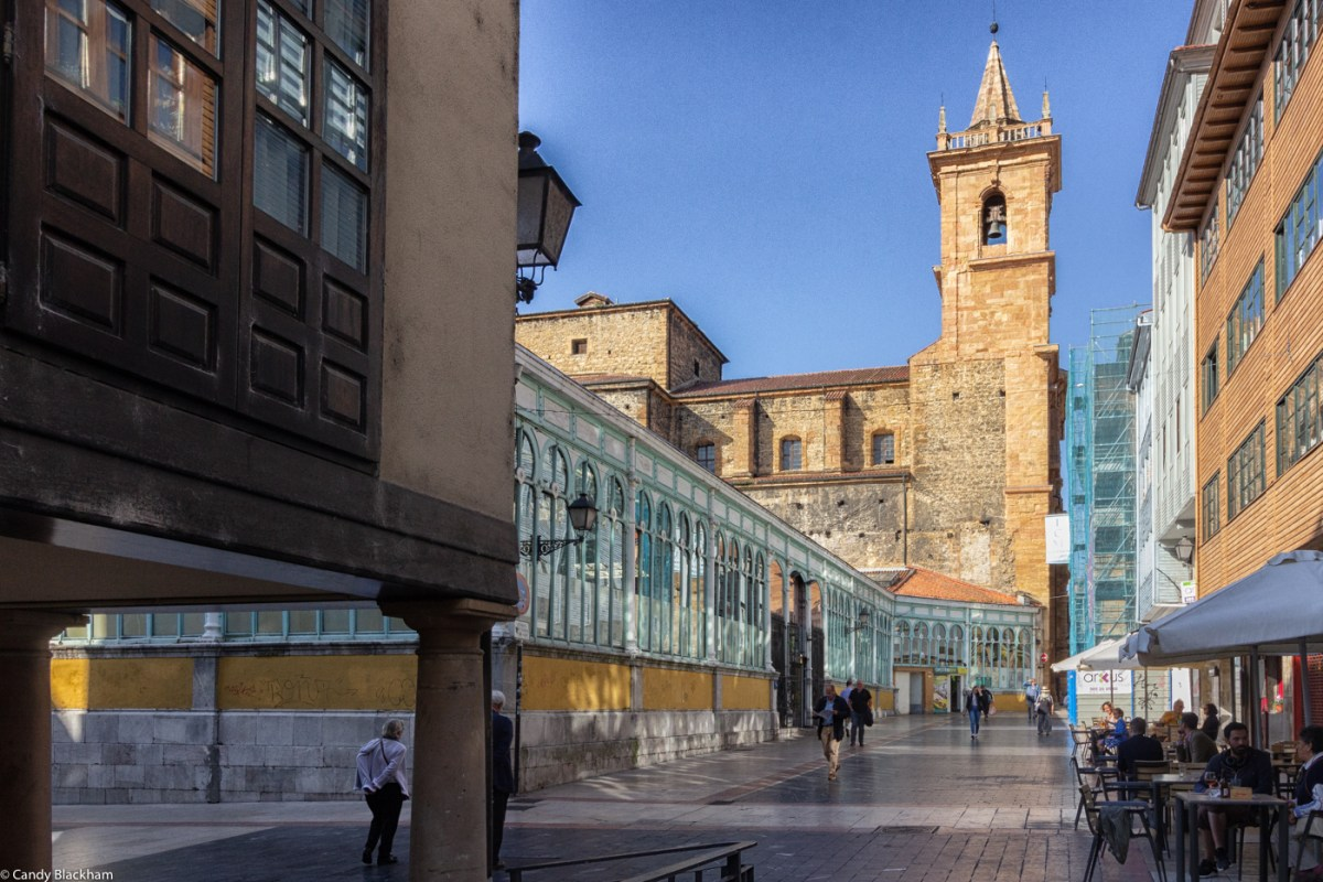 The covered market on the Calle Fontan