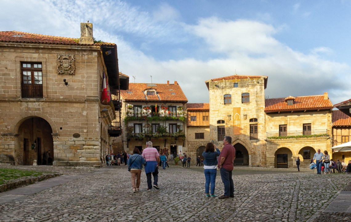 Plaza Mayor, Santillana del Mar