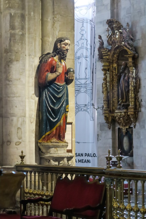 San Salvador 13C in the Cathedral in Oviedo
