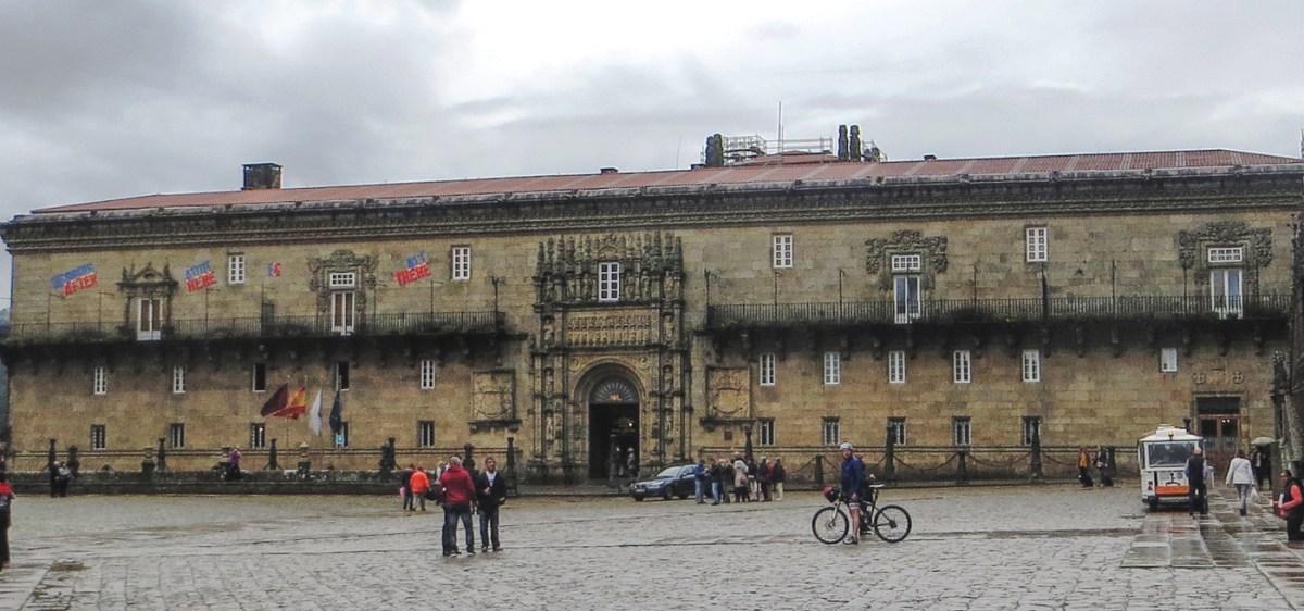 The Parador in Santiago de Compostela