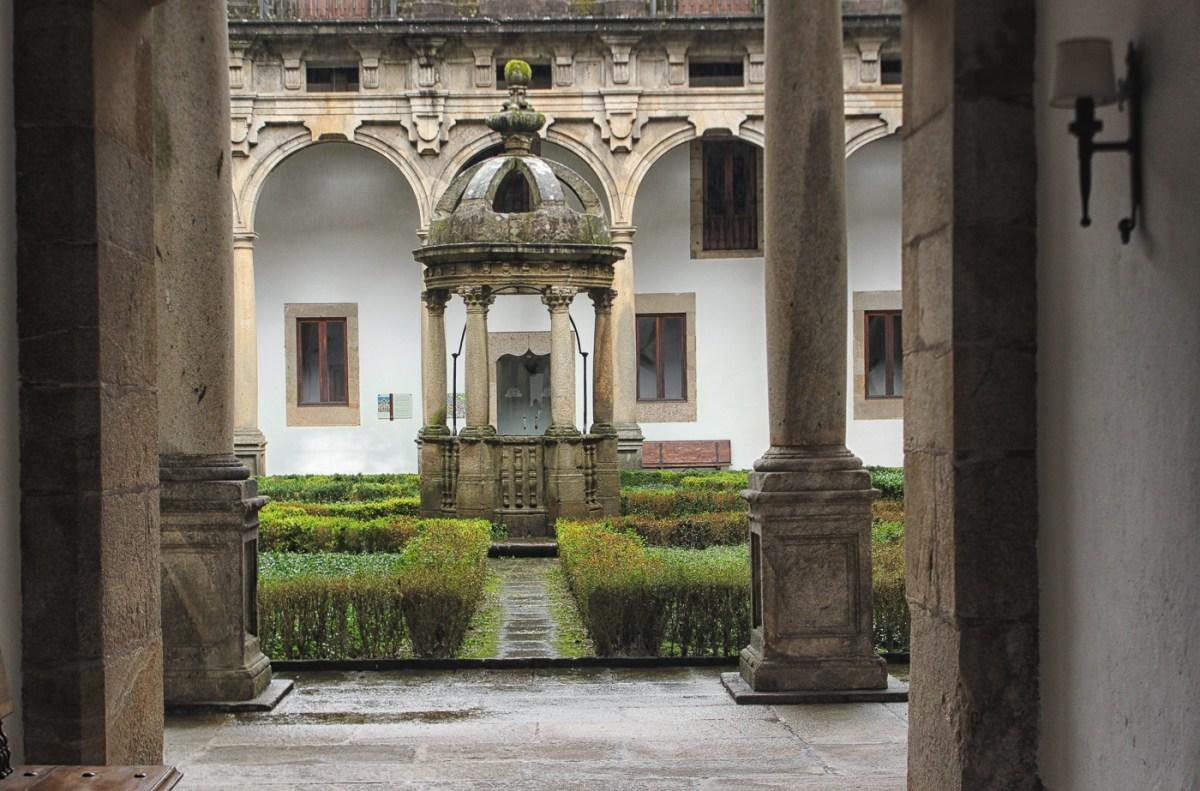 Patio San Mateo in the Parador in Santiago de Compostela